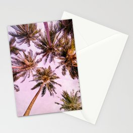 PASTEL PALM TREES no5 Stationery Cards