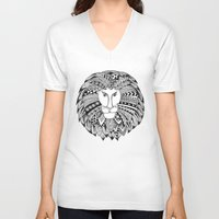 law V-neck T-shirts featuring Cecil's Law by MarjolynSpiritArt