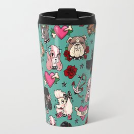 Tattoo Dogs Travel Mug