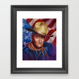 John Wayne - The Duke Framed Art Print
