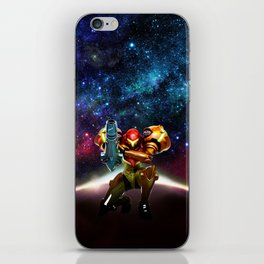 Metroid Samus Returns iPhone Skin