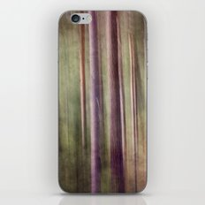 Magical forest at dust iPhone & iPod Skin