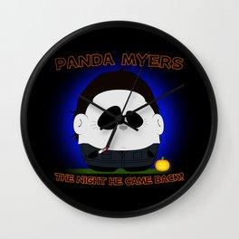 Panda Plopz (Panda Myers) Wall Clock