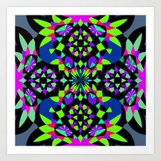 Mix #202 Art Print
