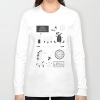 ouat Long Sleeve T-shirts featuring OUAT - A Knight by Redel Bautista