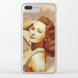 Virginia Mayo, Hollywood Legend Clear iPhone Case