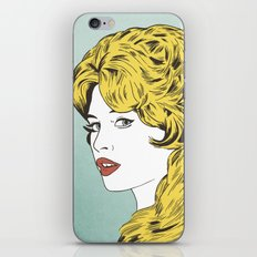 Blonde Bombshell iPhone & iPod Skin