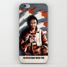 The Resistance Needs You Again! iPhone & iPod Skin