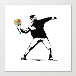Flowerbomb Canvas Print