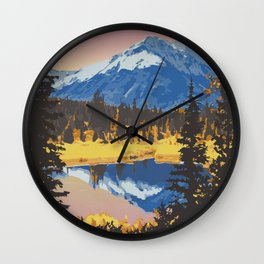 Kluane National Park and Reserve Wall Clock