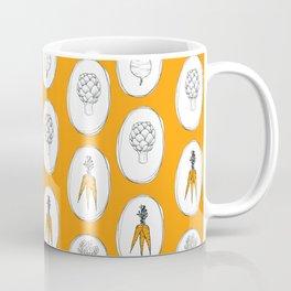 Vegetable Garden (orange) Coffee Mug