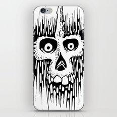 Skully Line iPhone & iPod Skin