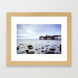 Llandudno Pier Framed Art Print