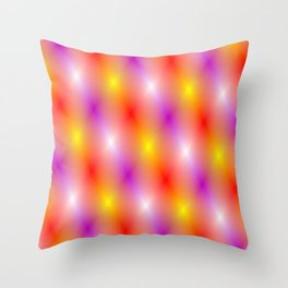 The lights of show business Throw Pillow
