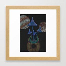 Universe Grows Framed Art Print