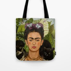 Frida Kahlo Painting I Tote Bag