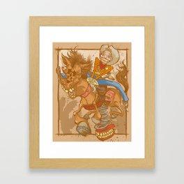 Frontier Psychiatrist Framed Art Print