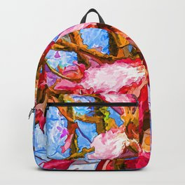 Tropical Flowers Design  Backpack