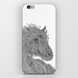 Doodle Horse iPhone Skin