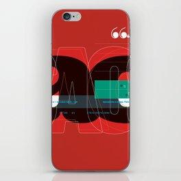 Tipofobia iPhone Skin
