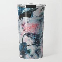 Another World Abstract Artwork Travel Mug