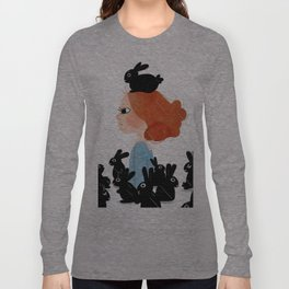 The Black Bunny Collector Long Sleeve T-shirt
