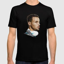 Curry low poly T-shirt