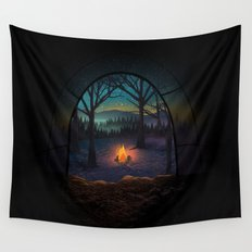 Bonfire Wall Tapestry