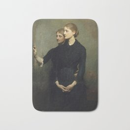 Abbott Handerson Thayer - The Sisters (1884) Bath Mat