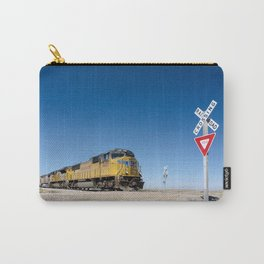 Caution (Do Not Stop On Tracks) Carry-All Pouch