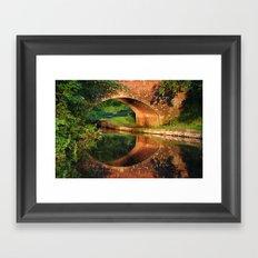 Sunlight Bridge Framed Art Print