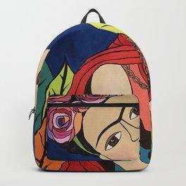 Frida Khalo Painting Backpack