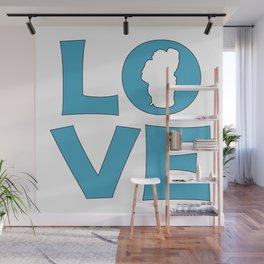 LOVE TAHOE Wall Mural