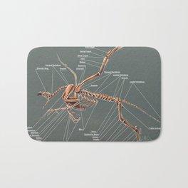Gryphon Skeleton Anatomy Bath Mat