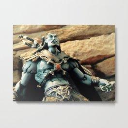 Keldor Ponders Next Move Motu Toy Photography Metal Print