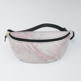 Marble Love Rose Gold Pink Metallic Fanny Pack