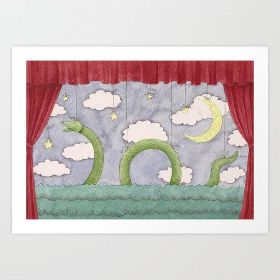Paper Theatre Art Print