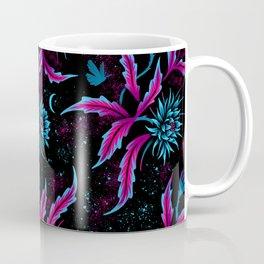 Queen of the Night - Black Purple Coffee Mug