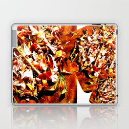 Flowers on a table 2 Laptop & iPad Skin
