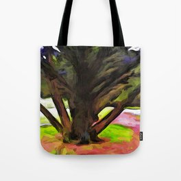 Avenue of Trees at the end of a Rainbow 1 Tote Bag