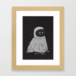 Drowning in cosmo Framed Art Print