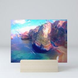 Dona Ana Beach Ocean Melody Mini Art Print