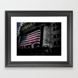 New York Stock Exchange, NYSE Framed Art Print