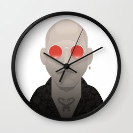 Mickey Knox - Natural Born Killers Wall Clock