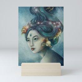 Zodiac Pisces Mini Art Print