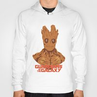 groot Hoodies featuring Groot  by bookotter