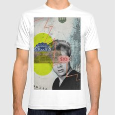 Public Figures - James Dean Mens Fitted Tee White MEDIUM