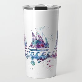 Little boats Travel Mug