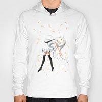 swan queen Hoodies featuring Swan by Freeminds