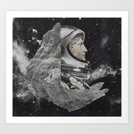 A place amongst the stars I Art Print